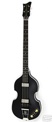 hofner matte black 500-1 bass