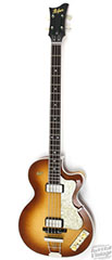 Hofner maple top 500/2 club bass for sale