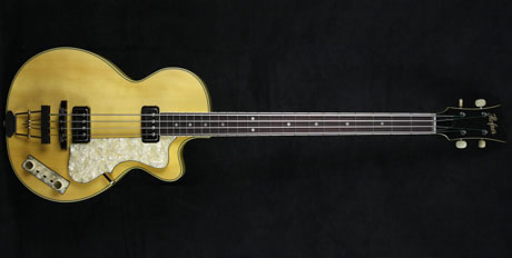 honfer custom shop club bass in natural