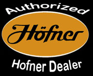 order a hofner custom shop bass, finished in the usa with german components.  Custom colors and pickup spacing.  Order a custom shop bass.