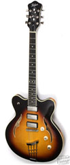 hofner close out special on 3 pickup verythin guitar assembled in Germany