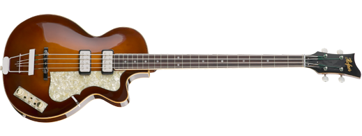 Hofner club bass in violin finish model h500/2 CV