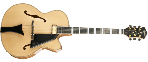hofner new president in natural finish
