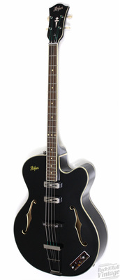 Hofner 500/1 Sutcliffe bass in black