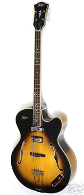 Hofner 500/1 Sutcliffe bass for sale, this one is a Sunburst