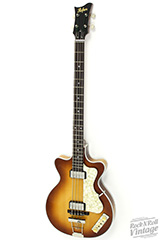 hofner double cut club limited edition bass on sale