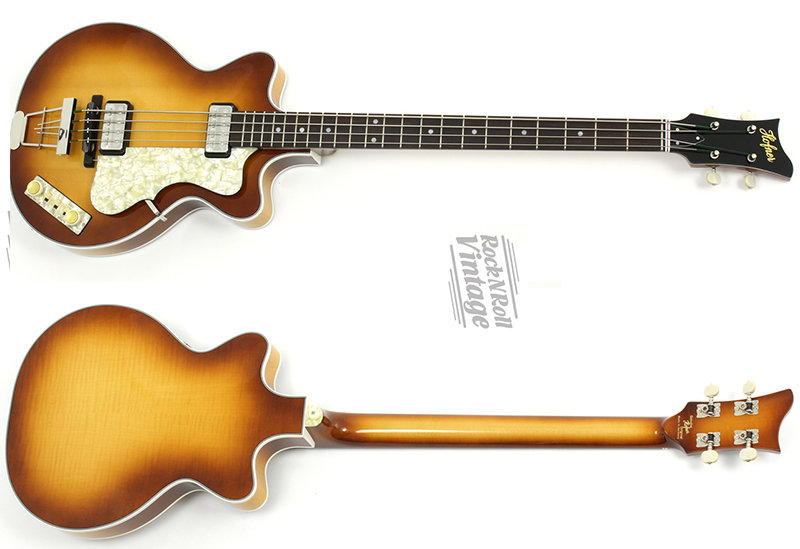 Hofner gold label double cut club bass