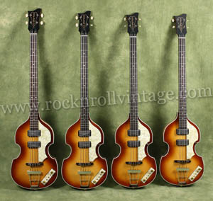 1961 hover beatles bass reissues for sale