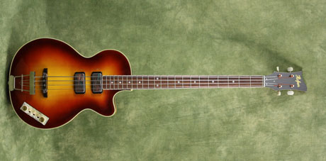 custom shop 500/2 club with custom sunburst finish