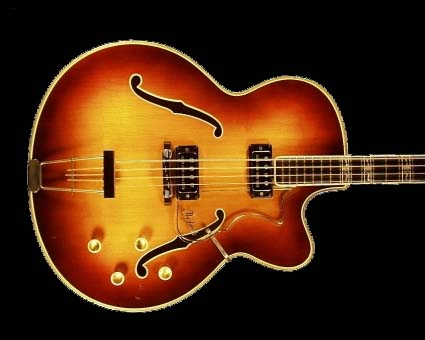 1963 hofner committee guitar